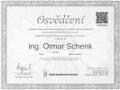certifikát ČBA